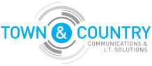 Town & Country Communications & I.T Solutions Logo